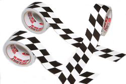 Angled Checkerboard Tape