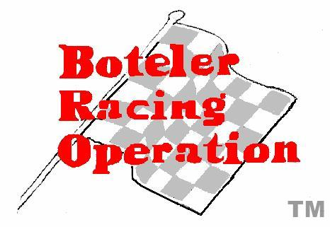 Boteler Racing Logo and Home Page